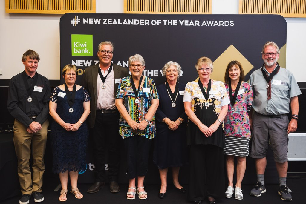 Marlborough 2019 Kiwibank Local Hero Medal Recipients