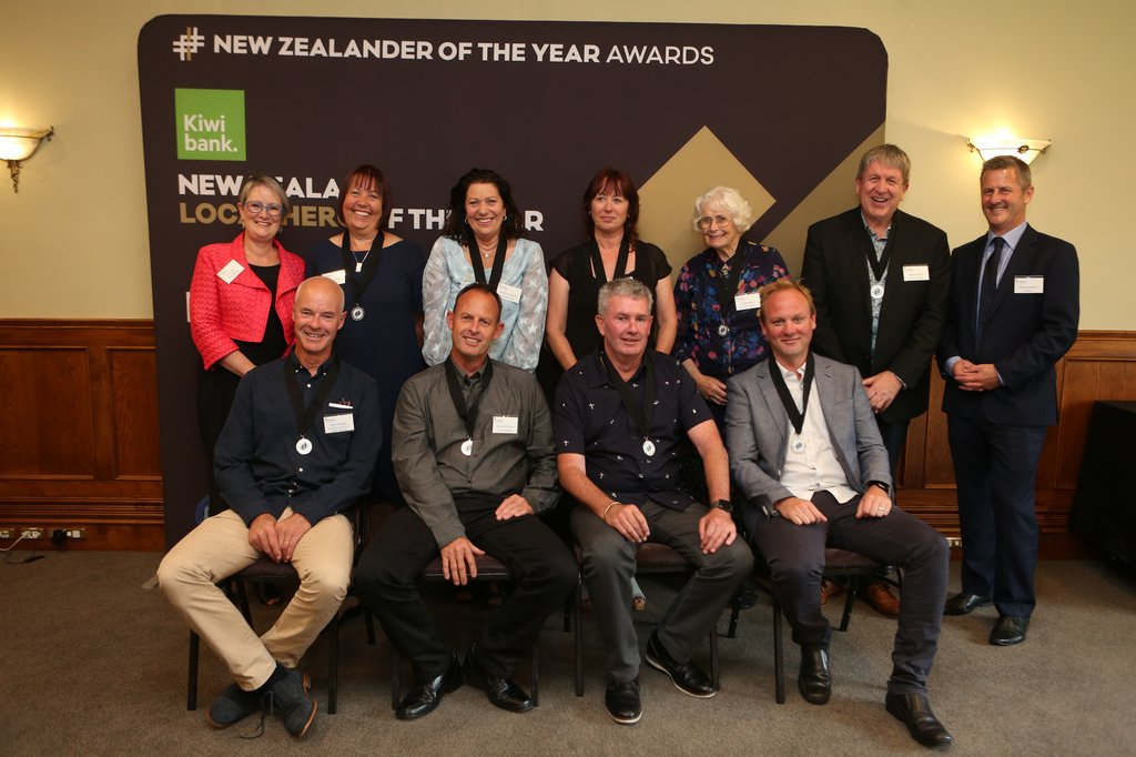 Nelson 2019 Kiwibank Local Hero Medal Recipients
